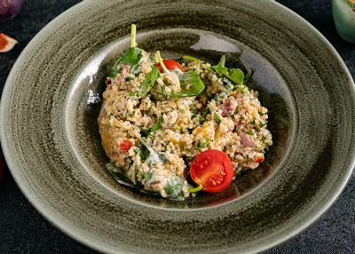 Salata cu bulgur