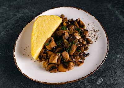 Ciuperci Sote cu Mămăliguță