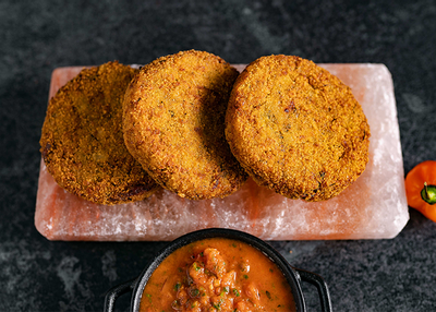 Quinoa Fritters & Spicy Salsa