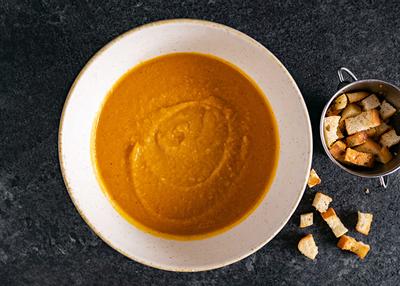 Supă cremă de linte