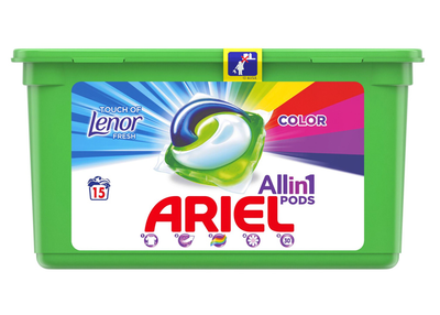 Ariel touch of lenor color
