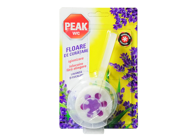 Peak Wc Aparat Floare Lavanada si Eucalipt