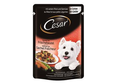 Cesar pui si legume in sos