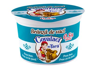Branza proaspata de vaci Covalct - 0.5%
