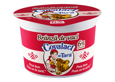 Branza proaspata de vaci Covalact- 6%