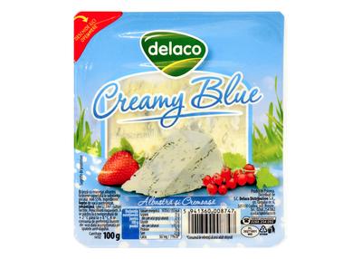 Delaco Creamy Blue felii