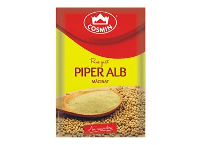 Piper Alb Macinat