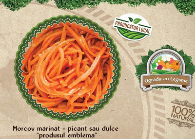 salata de morcov marinat picant