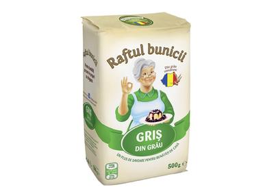 Raftul bunicii – gris din grau