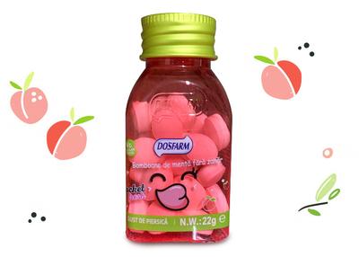 Do's Farm piersica- bomboane de menta fara zahar