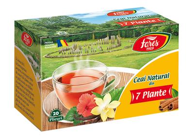 Fares Ceai Natural din 7 Plante