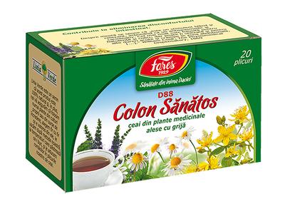 Ceai colon sanatos