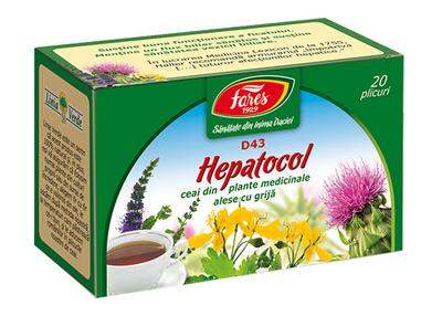 Ceai hepatocol