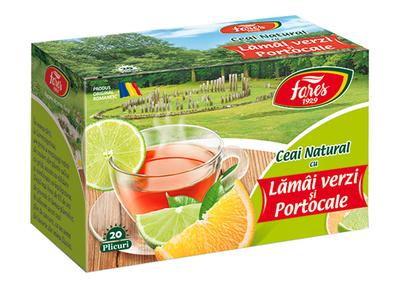 Fares Ceai Natural Lamai si Portocale