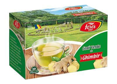 Fares Ceai Verde cu Ghimbir