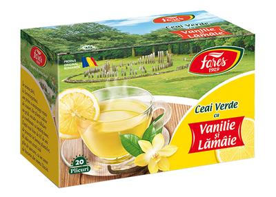 Fares Ceai cu Vanilie si Lamaie