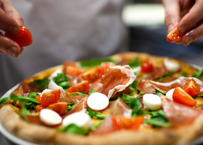 Pizza creată
