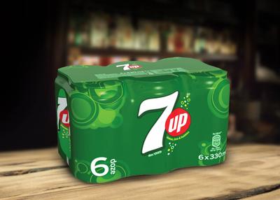 7Up Doza - 6 buc