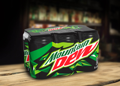Mountain Dew Doza - 6 buc