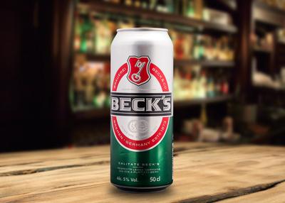 Beck`s doză 0.5 L
