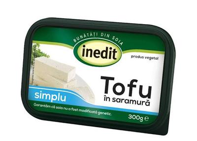 Tofu in saramura simplu