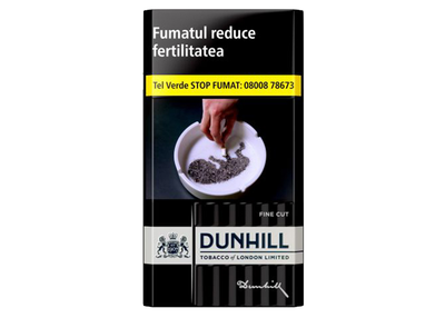 Ţigări Dunhill Fine Cut Swiss Blend (Black)