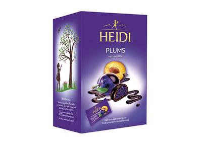 Heidi prune glazurate in ciocolata amaruie