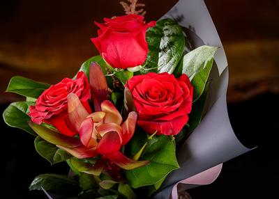 "Flori ""Te iubesc"""