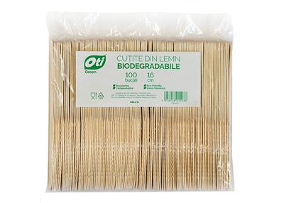 Cutite din lemn biodegradabile