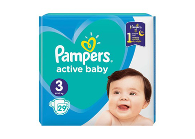 Pampers Scutece Baby nr 3