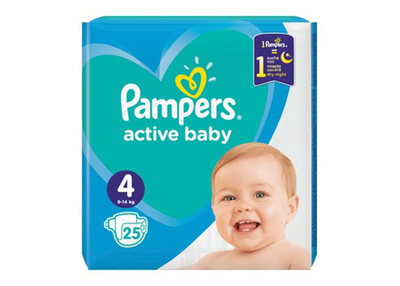 Pampers Scutece Baby nr 4
