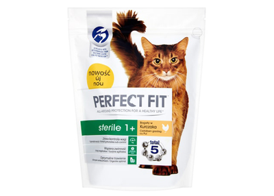 Perfect fit cat sterile