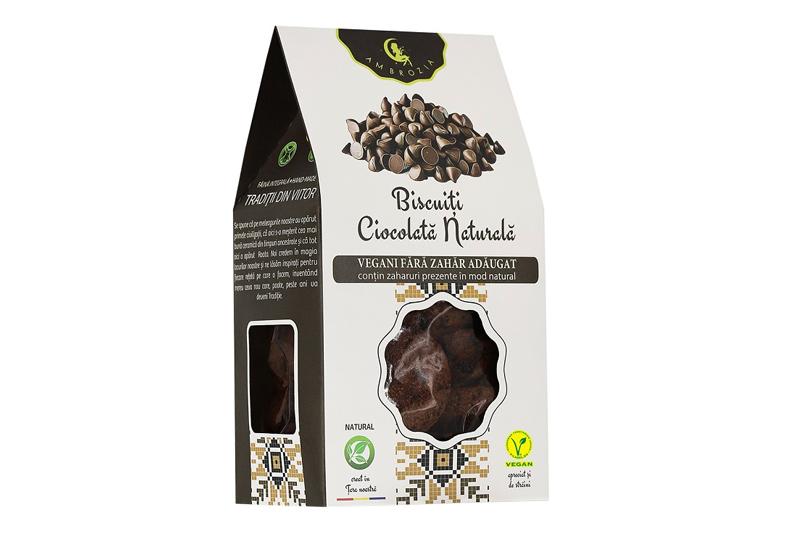 Biscuiti ciocolata naturala