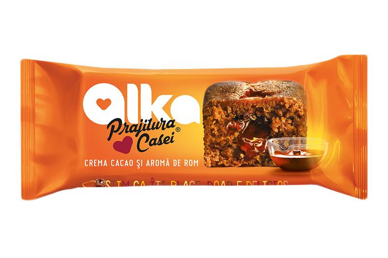 Prajitura casei cacao si rom