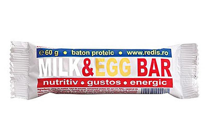 Milk & egg baton proteic